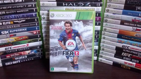 Fifa 13 Xbox 360 Original - Português - Frete R$ 12