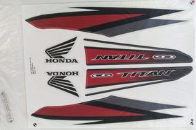 Kit Jogo Faixa Adesivo Moto Honda Cg Titan 160 2016 Branca