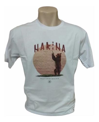 Imagem 1 de 1 de Camiseta Unissex Narina Urso Califórnia