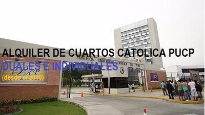 Alquiler De Cuartos Catolica Pucp