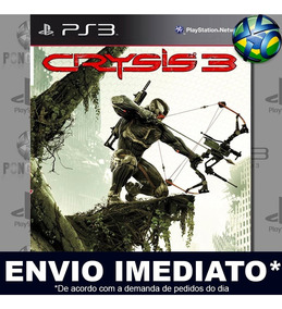 Ps3 Crysis 3 Jogo Play 3 Midia Digital
