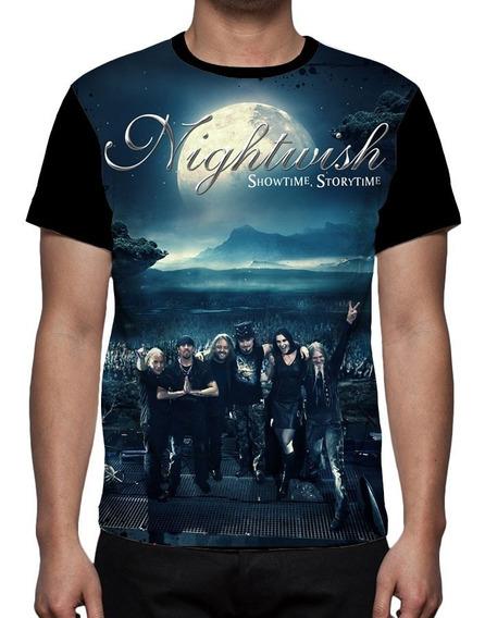 Camiseta Banda Nightwish Showtime Storytime 01 - Frente