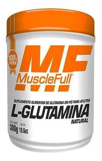 L-glutamina Natural 300g Muscle Full