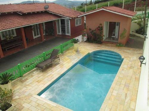 Chácara Com 2 Dormitórios À Venda, 1022 M² Por R$ 595.000,00 - Chácaras Bela Vista - Nazaré Paulista/sp - Ch0736