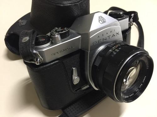 Pentax Asahi Spotmatic 1972 C/case Original - Raridade