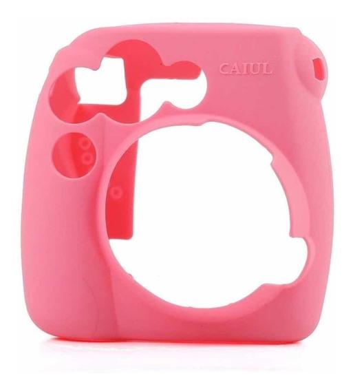 Capa De Silicone Instax Mini 9 Mini 8 Proteção Anti Riscos