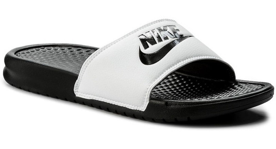 Sandalia Nike Benassi Jdi Blanco/negro 343880 100