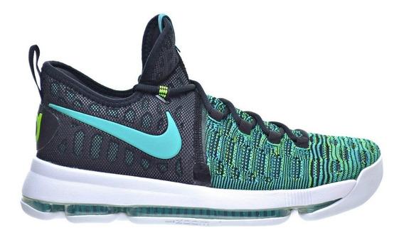 Tênis Basquete Nike Kevin Durant 9 Verde Preto Kd 9 Tam. 39