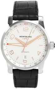 Relógio Montblanc 109136 Timewalker Gmt Automatico Original