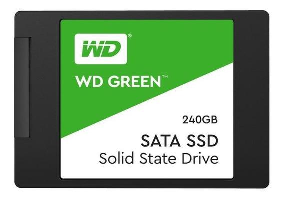 Disco Estado Sólido Wd Ssd Green 240gb 2.5 Int Sata 3d