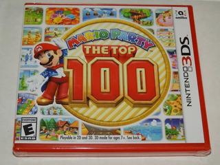Mario Party The Top 100 Nintendo 3ds Fisico Nuevo Sellado