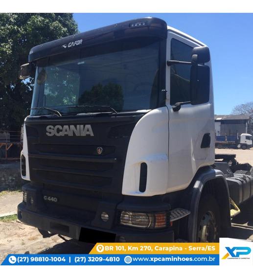 Scania Cavalo G440 - Munck Pesado