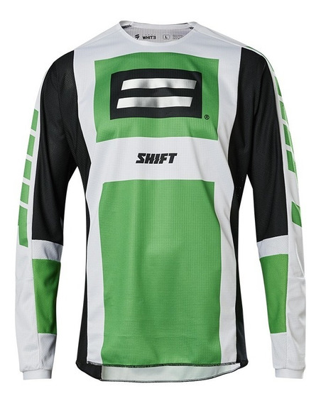 Jersey Shift Whit3 Label Archival Se