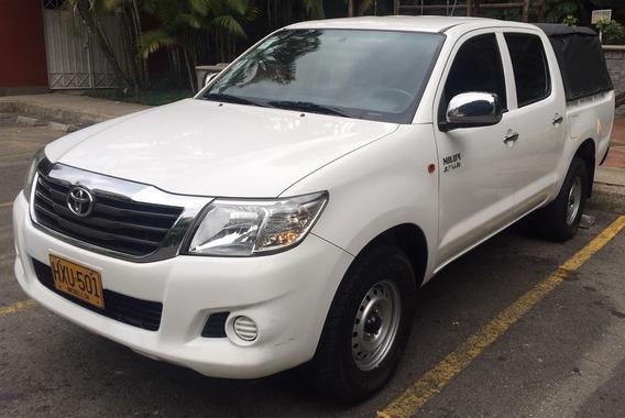 Toyota Hilux Convertida A Gas, Sin Pico Y Placa