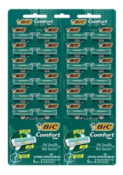 Bic Confort 2 Sensível Aparelho Verde 12x2