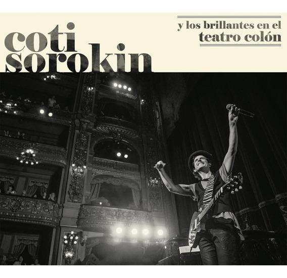 Coti Sorokin Y Los Brillantes En El Teatro Colón Cd + Dvd