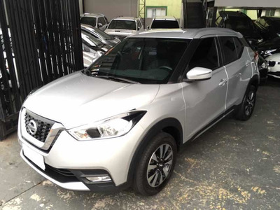 Nissan Kicks 1.6 16v Sv Limited Aut. 5p 2017 Prata Na Garant