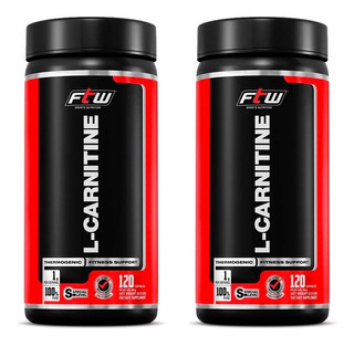 2x L-carnitine 120caps 1000mg Ftw Full