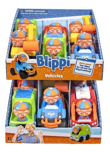 Blippi Mini Vehiculo Surtido Coleccionable Original Wabro