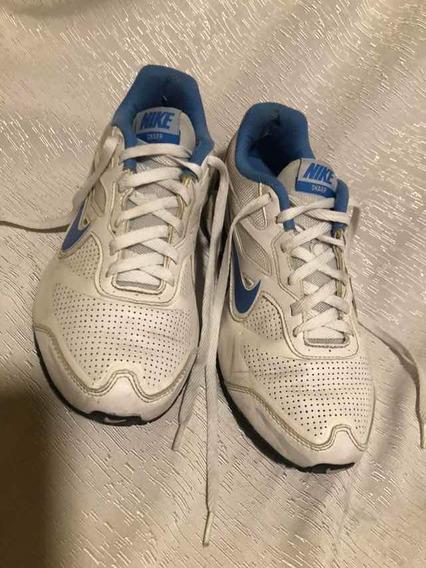 Zapatillas Nike Sharp Cuero Talle 40,5/ Us9excelente Estado