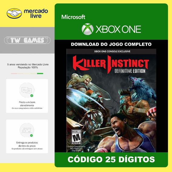Killer Instinct Definitive Edition 25 Digitos Xbox One