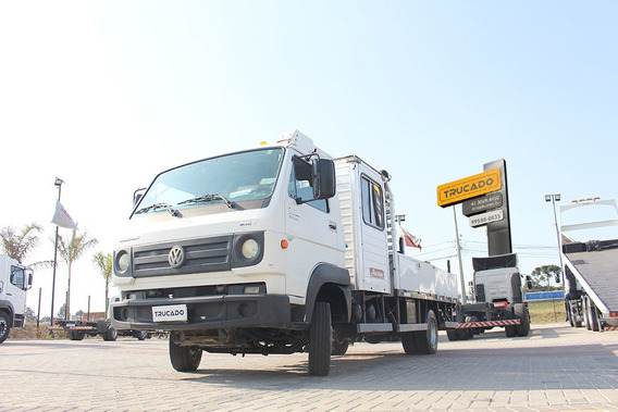 Caminhão Vw 8160 2014 Cab Suplementar Cesto Aéreo