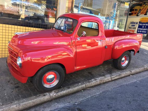Pick-up Studbaker V6 F1 Boca De Sapao Chevy F100 Vampirinha