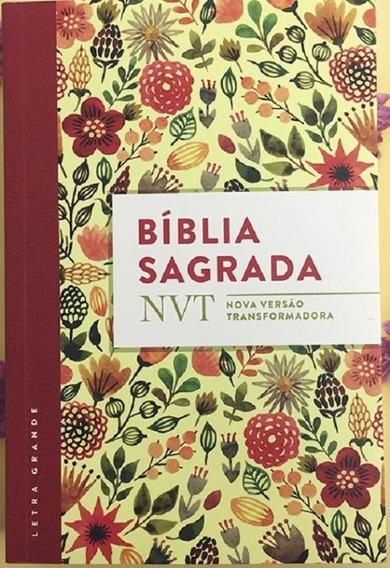 Biblia Sagrada - Nvt - Aquarela Letra Grande - Mundo Cristao