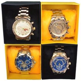 Exclusivo Kit Com 10 Relógios Masculino Luxo + Caixa Atacado