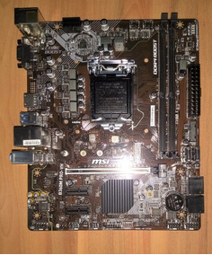 Placa Mãe Msi B360m Pro-vh + Processador I5 8600k Lga1151