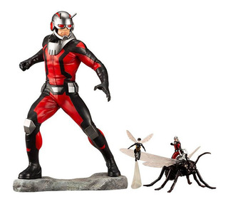 Marvel Universe Artfx+ Ant-man Estatua Avengers
