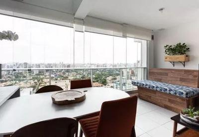 Cobertura Com 1 Dormitório À Venda, 71 M² Por R$ 880.000 - Brooklin Novo - São Paulo/sp - Co1297