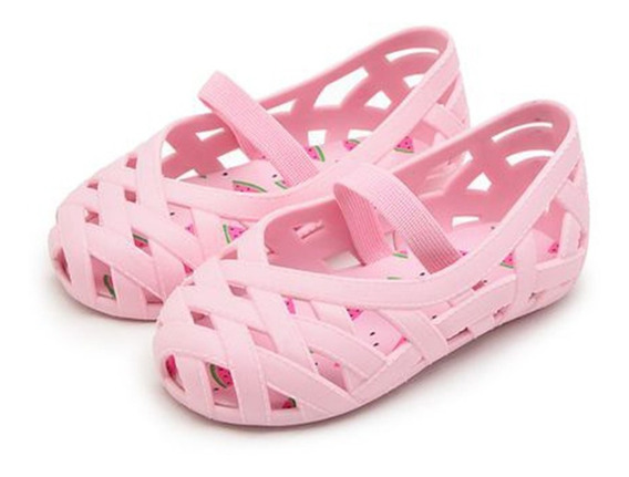 Sapatilha Infantil Menina Pimpolho Colorê Rosa 20 Ao 27
