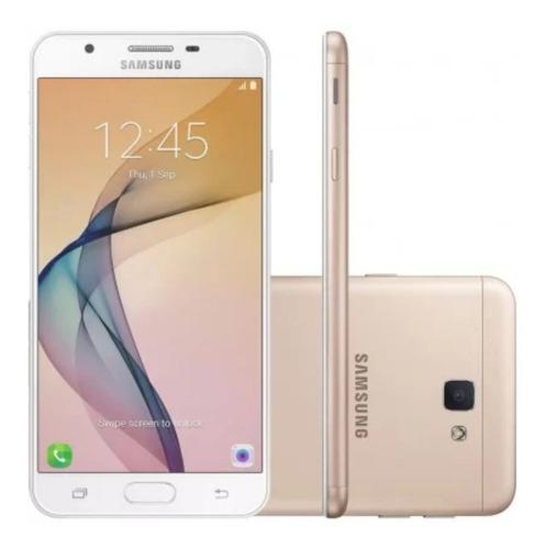 Samsung J7 Prime Dourado 32gb De Memória 3gb Ram