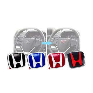 Emblema Volante Honda Civic Accord Crv Fit Varios Colores
