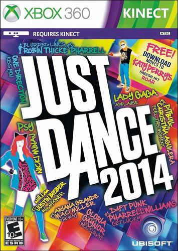 Just Dance 2014 Xbox 360 - M. Física   Garantia Playgorila