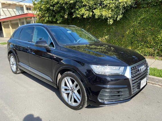 Audi Q7 S Line 2018, Negra, Un Dueño, Factura Original