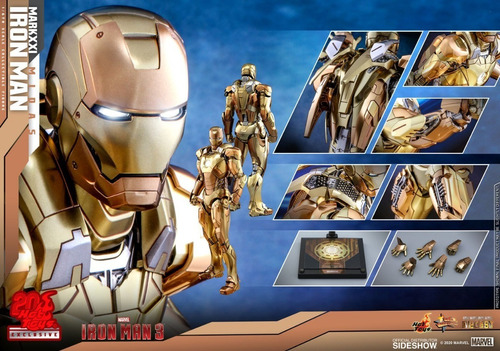 Hot Toys Iron Man Midas 21 Ironman Diecast Nuevo 1/6 Fpx
