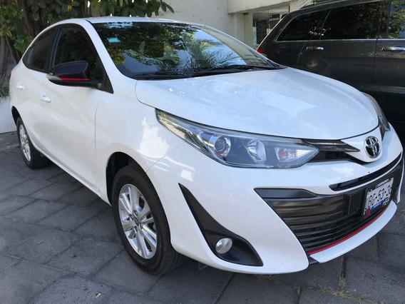 Toyota Yaris 2018 4p Sedán S L4/1.5l Aut