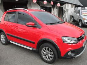 Volkswagen Crossfox Gii 2013 Vermelha Flex