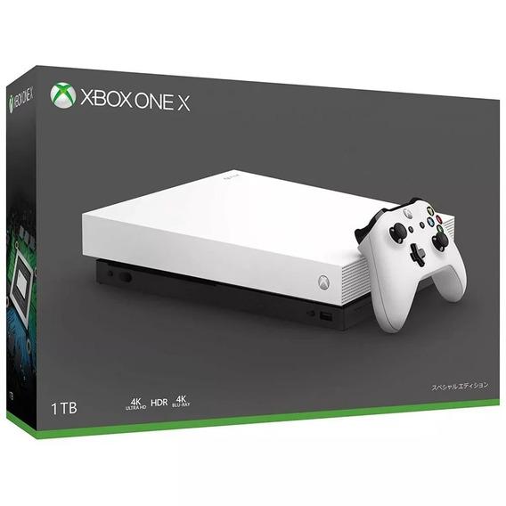 Xbox One X 4k 1tb Branco Microsoft Original Pronta Entrega!