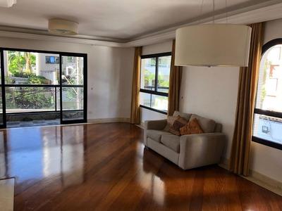 Apartamento Em Moema, São Paulo/sp De 160m² 3 Quartos Para Locação R$ 8.000,00/mes - Ap173287