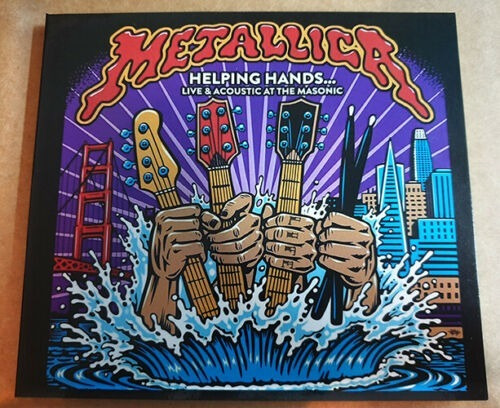 Metallica - Helping Hands, Live Acoustic At The Masonic - Cd