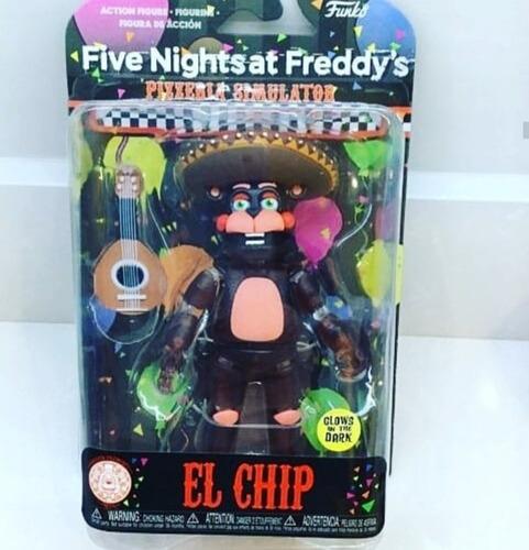 Figura Muñeco Five Nights At Freddy's El Chip Funko Original