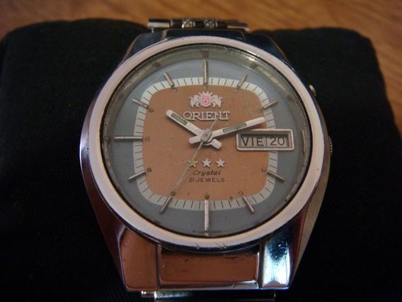 Clásico Reloj Orient Automatico De Colección Años 70s