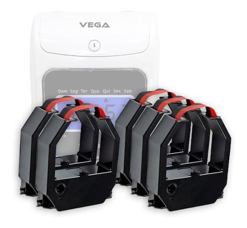 Kit 5 Fita Para Relógio De Ponto Henry Vega Dataprint 945