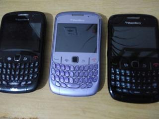 Smartphone Blackberry Curve Vivo Leia O Anuncio - Peças
