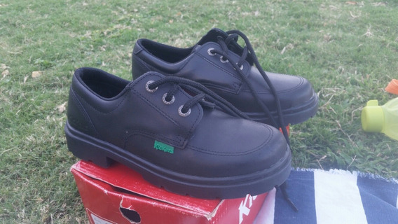 Zapatos Colegial Kickers Kero Escolar Nena Nene. Número 34