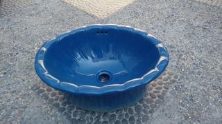 Lavabo Color Azul Nuevo
