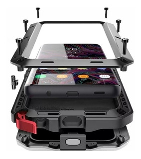 Capa Case Galaxy Note 9 S9 S10 Plus S10 Anti Shock Armadura Metal Blindada Tank Parafusada